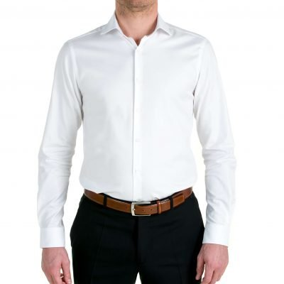 Duurzaam overhemd Serious White Oxford