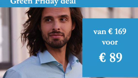Our Green Friday Deal, don't miss it!
