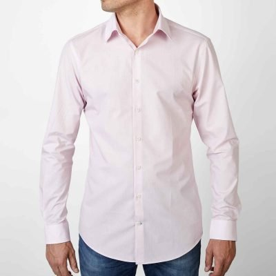 Sustainable Shirt Pink Business
