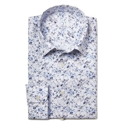 Sustainable Shirt Blue Nature Fun