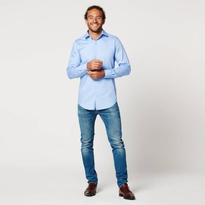 Sustainable Shirt Circular Blue