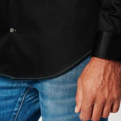 Sustainable Shirt Circular Black